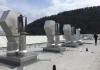 Industrieabgasanlage mit Regenschutz